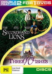 Secondhand Lions / Three Wishes - Double Feature (2 Disc Set) on DVD
