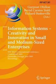 Information Systems -- Creativity and Innovation in Small and Medium-Sized Enterprises