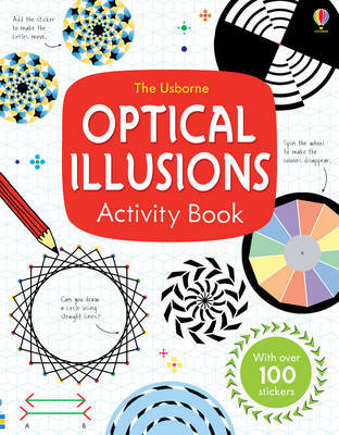Optical Illusions Activity Book image