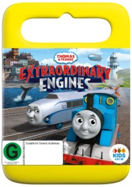 Thomas & Friends: Extraordinary Engines on DVD