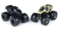 Monster Jam: 1:64 Scale Diecast 2-Pack - Soldier Fortune & Black Ops