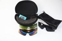 Ape Basics Polarized Photochromic UV400 Fishing Sports Sunglasses with Case - 5 Interchangeable Lenses