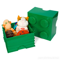 LEGO Storage Brick 4 (Dark Green)