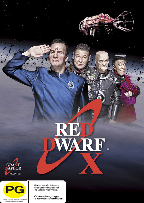 Red Dwarf X on DVD