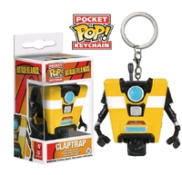 Borderlands: Claptrap - Pocket Pop! Key Chain
