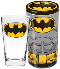 DC Comics Batman Glass in Tin