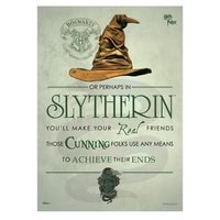 Harry Potter: Sorting Hat Slytherin - MightyPrint Wall Art