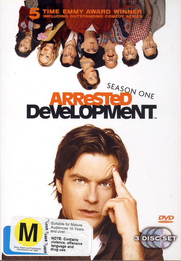 Arrested Development - Season 1 (3 Disc Set) on DVD image