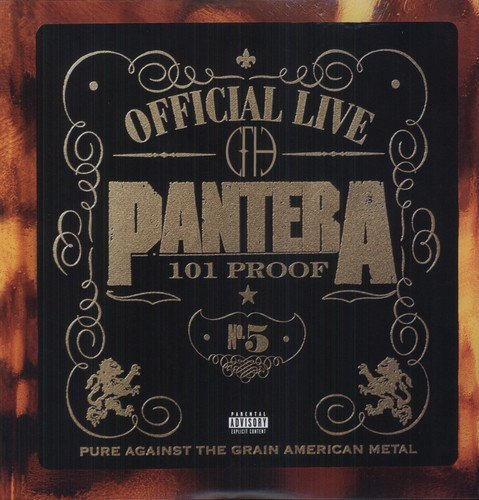 Pantera - The Great Official Live Vinyl by Pantera image