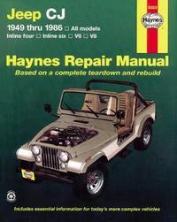Jeep Cj (49 - 86) by J.H. Haynes