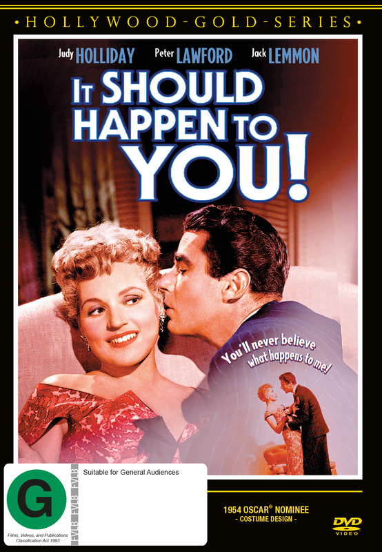 It Should Happen To You on DVD