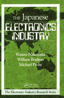 The Japanese Electronics Industry by Wataru Nakayama image