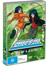 Air Gear - Vol. 3: A New Legacy on DVD