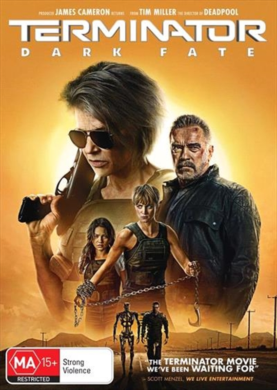 Terminator: Dark Fate on DVD