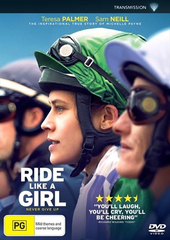 Ride Like A Girl on DVD