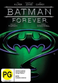 Batman Forever on DVD image