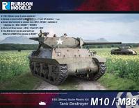 Rubicon 1/56 M10 / M36 Tank Destroyer