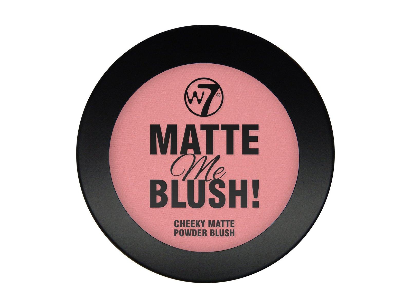 W7 Matte Me Blush (On the Edge) image