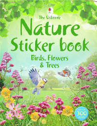 Nature Sticker Book image