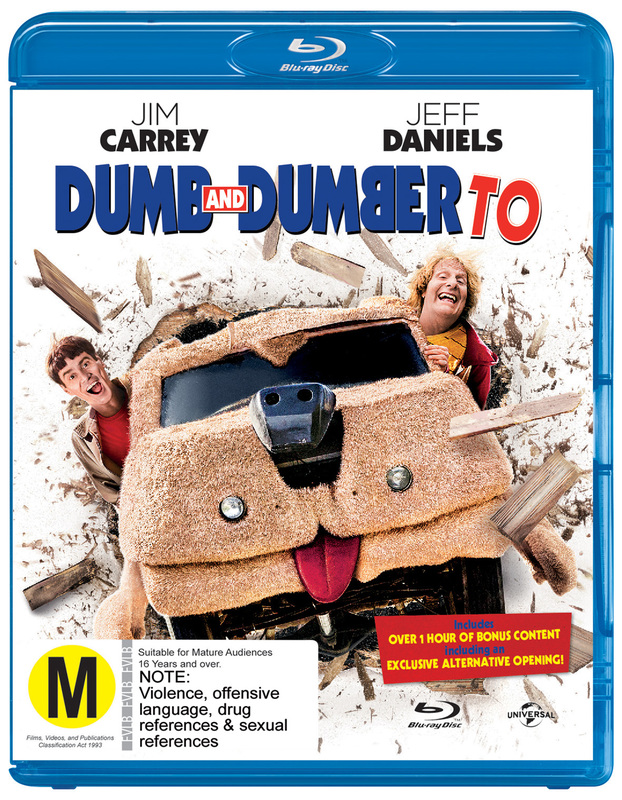 Dumb and Dumber To on Blu-ray