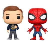 Spider-Man: Homecoming - Spider-Man & Peter Parker Pop! Vinyl 2-Pack