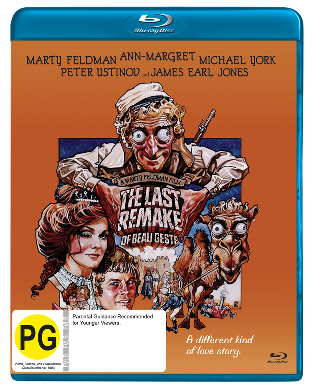 Last Remake of Beau Geste on Blu-ray