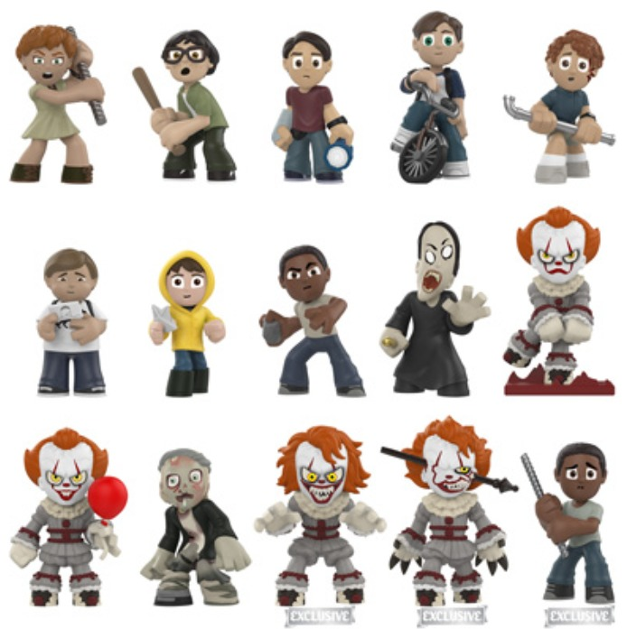 It (2017) - Mystery Minis Figure - [Wall Greens Ver.] (Blind Box) image
