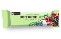 Nutra Organics Super Greens + Reds Bar (45g)