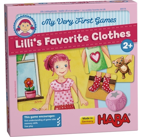 My Very First Games - Lillis Favourite Clothes