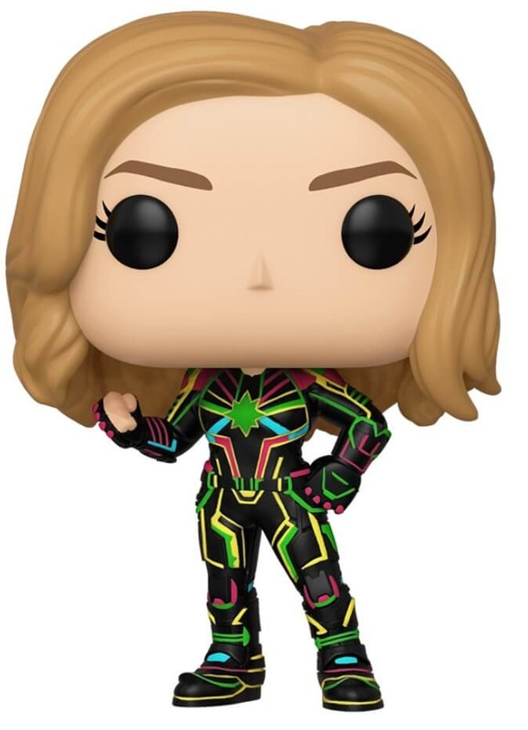 Captain Marvel (Neon Suit) - Pop! Vinyl Figure