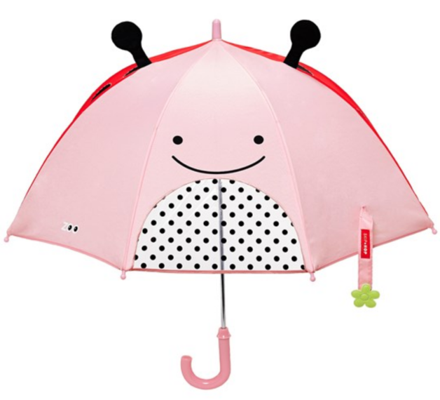 Skip Hop: Zoobrella - Little Kid Umbrella (Ladybug)