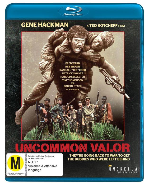 Uncommon Valor - Combat Classics on Blu-ray
