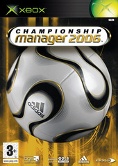 Championship Manager 2006 for Xbox