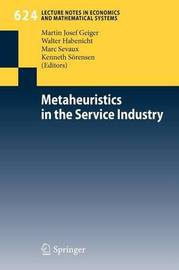 Metaheuristics in the Service Industry image