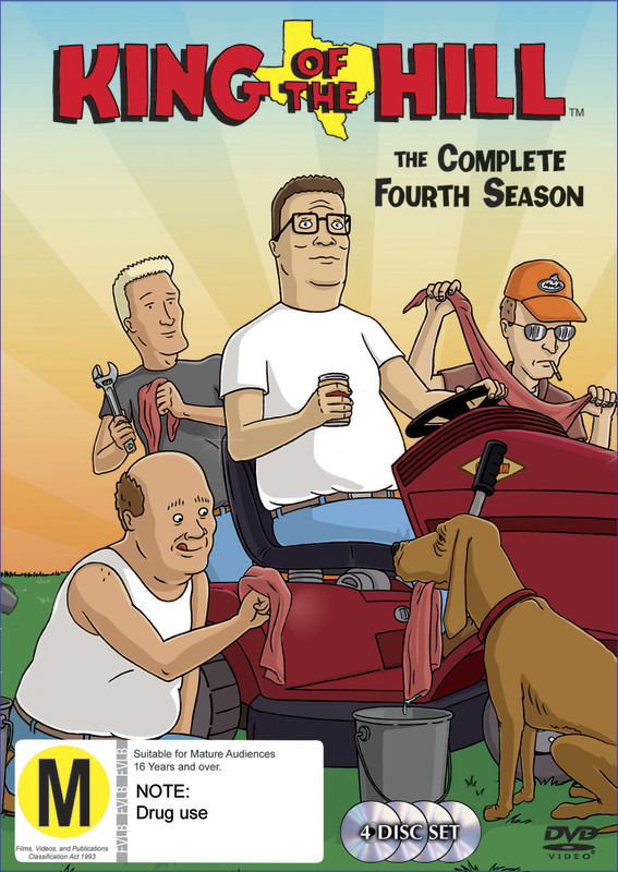 King Of The Hill - Complete Season 4 (4 Disc Set) on DVD