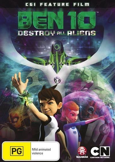 Ben 10: Destroy All Aliens (CGI Feature Film) on DVD