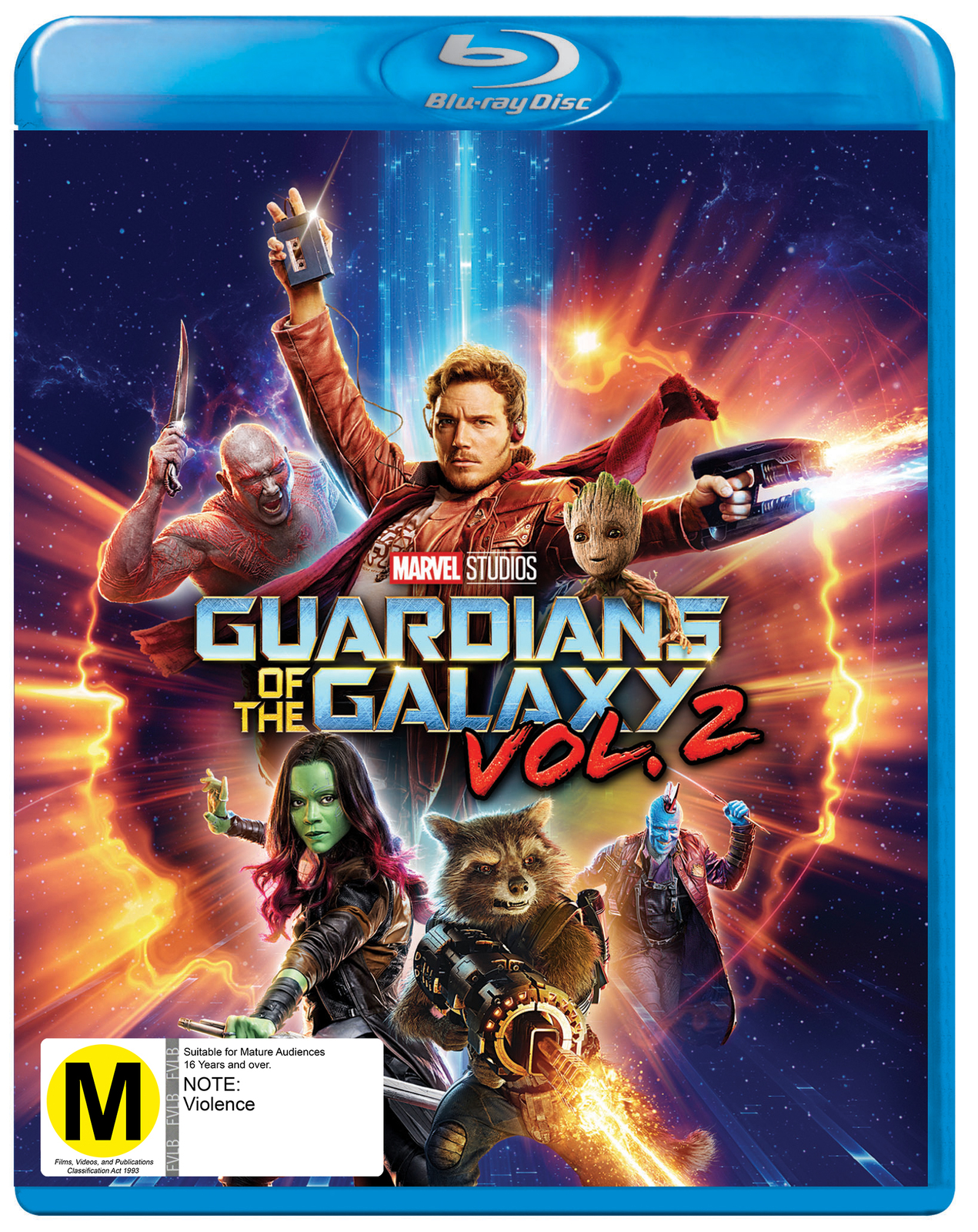 Guardians of the Galaxy Vol. 2 on Blu-ray image