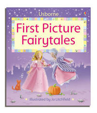 Luxury First Picture Fairy Tales With CD by Felicity Brooks image
