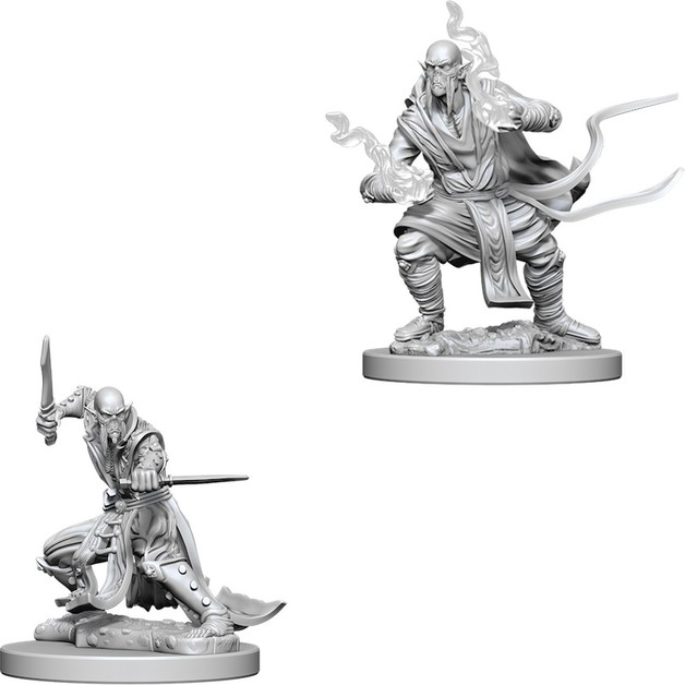 D&D Nolzur's Marvelous: Unpainted Miniatures - Githzerai