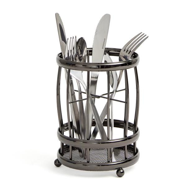 Black Onyx: Cutlery Drainer