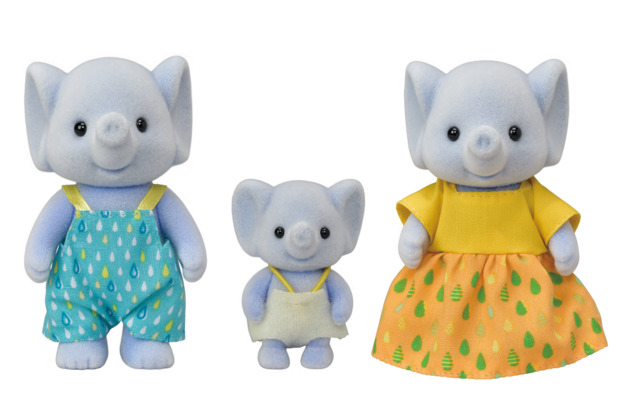 Sylvanian Families - Elephant Family (3-Pack)