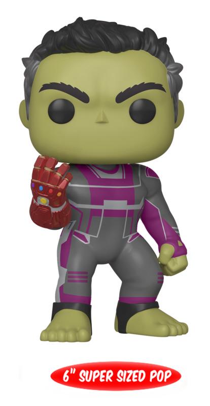 "Avengers: Endgame - Hulk (with Gauntlet) 6"" Pop! Vinyl Figure"