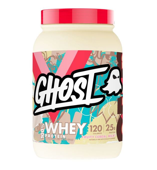 Ghost: Whey - Fruity Cereal Milk (907g)