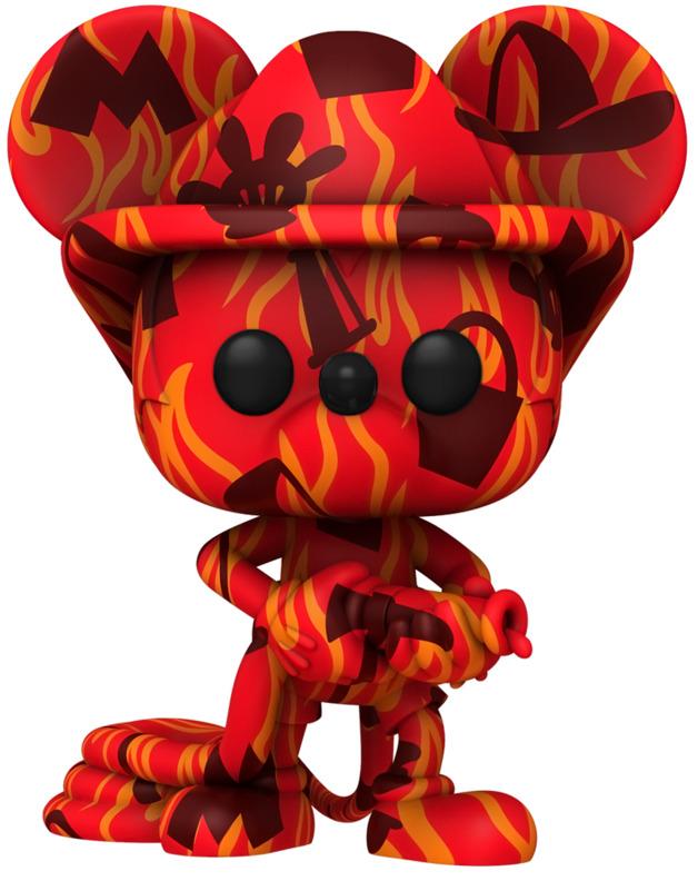 Disney: Firefighter Mickey - Pop! Vinyl Figure + Protector