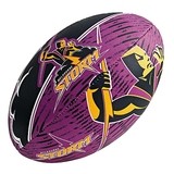 Steeden NRL Melbourne Storm Supporter Ball - Size 5