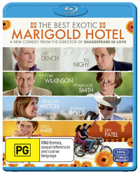 The Best Exotic Marigold Hotel on Blu-ray image