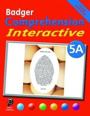 Badger Comprehension Interactive KS2: Pupil Book 5A by Ruth Blake