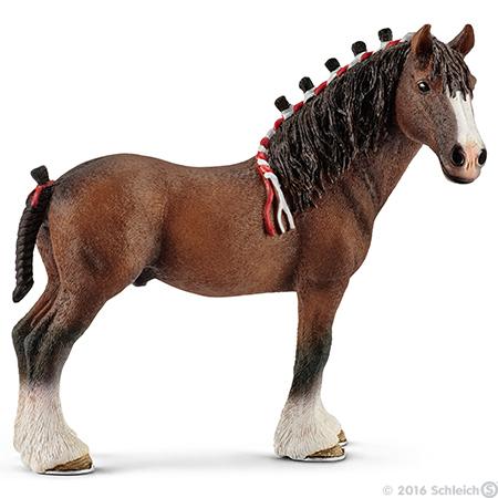 Schleich Horse Club Stall Stable Lusitano Mare White Pony Figure Toy Children
