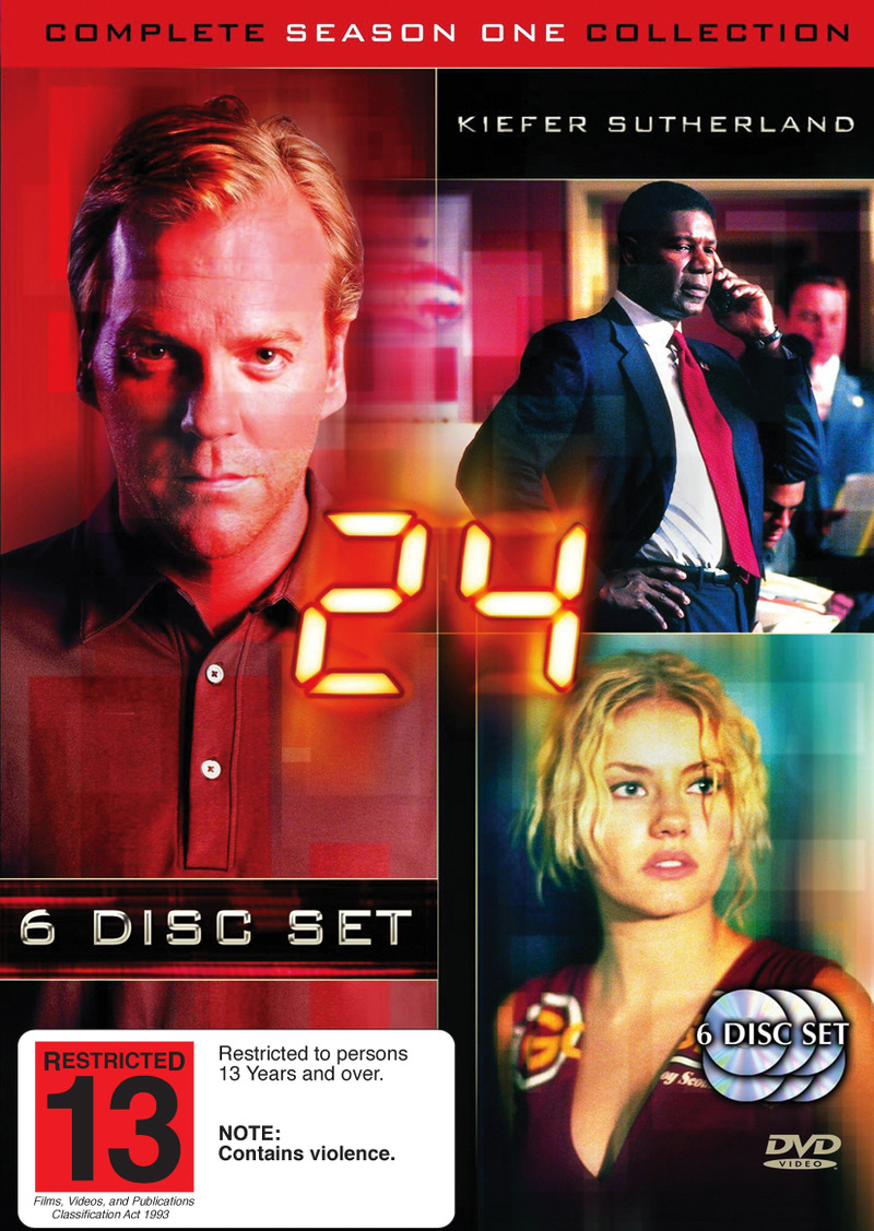 24 - Complete Season 1 Collection on DVD image