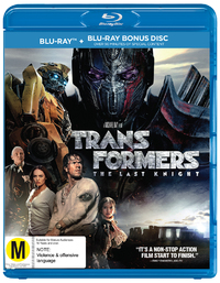 Transformers: The Last Knight on Blu-ray